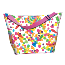 Candy Collage Weekender Bag