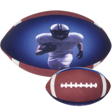 Football - 3D Microbead Pillow