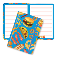 Junk Food Hardcover Journal