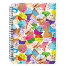 Cupcakes - 3D Small Journal