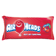 Airheads Metallic Cherry Microbead Pillow