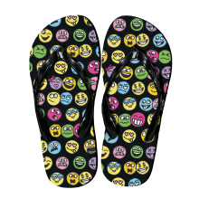 Picture of Funny Emojis Flip Flops