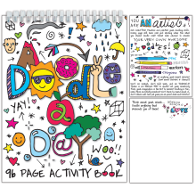 A Doodle a Day Activity Book