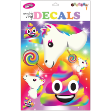 Rainbow Emojis Decals Large