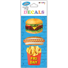 Junk Food Decals Small