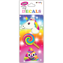 Rainbow Emojis Decals Small