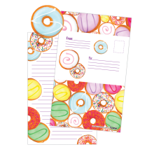 Donuts Delight Foldover cards