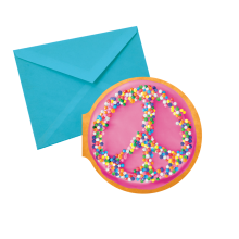 Peace Donut Notecards - Chocolate Scented
