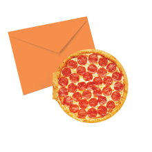 Pizza Notecards - Pizza Scented