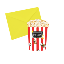 Popcorn  Notecards - Popcorn Scented