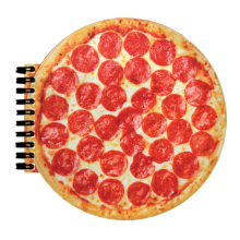 Pizza Notebook - Pizza Scented