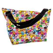 Picture of Emoji Collage Overnight Bag