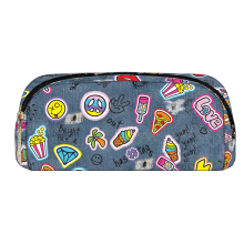 Patches Pencil Case