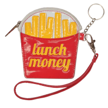 Lunch Money Purse Key Chain
