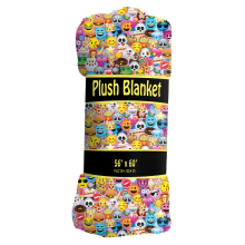 Picture of Emoji Collage Plush Blanket