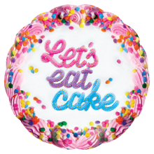 Let's Eat Cake Microbead Pillow - Vanilla Scented