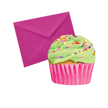 Celebration Cupcake Scented Notecards