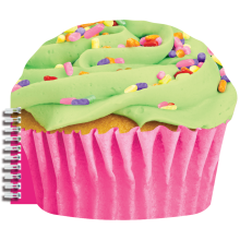 Celebration Cupcake Scented Notebook