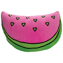 Watermelon Embroidered Pillow