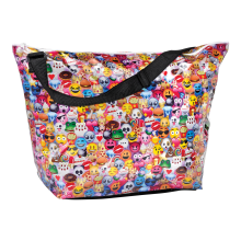 Emoji Collage Weekender Bag