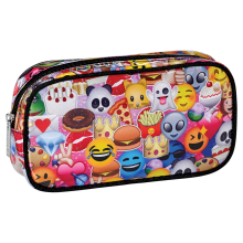 Picture of Emoji Collage Small Cosmetic Bag