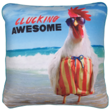 Clucking Awesome Avanti™ Microbead Pillow