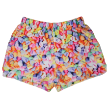 Conversation Hearts Plush Shorts