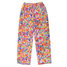 Conversation Hearts Plush Pants