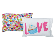 Cupcakes Pillowcase Set