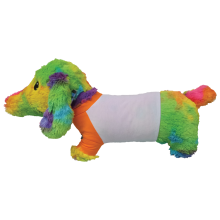 Tie Dye Hot Dog Autograph Pillow