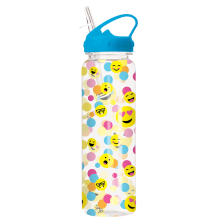 Confetti Emojis Water Bottle