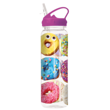 Assorted Donuts Water Bottle