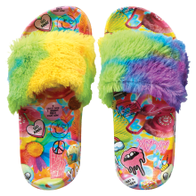 Psychedelic Collage Fur Slides