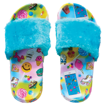 Flair Fur Slides