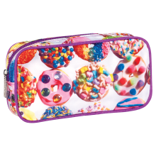 Assorted Donuts Small Cosmetic Bag
