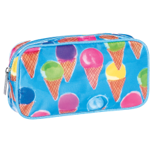 Watercolor Cones Small Cosmetic Bag