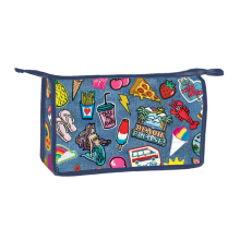 Picture of Embroidered Patches Travel Bag