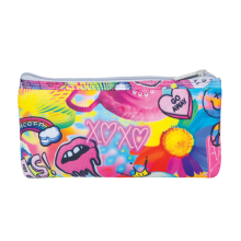 Psychedelic Collage Pencil Case