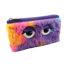 Tie Dye Furry Pencil Case