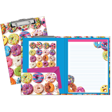 Assorted Donuts Clipboard Set