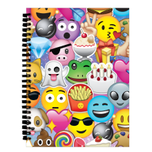 Emoji Collage - 3D Small Journal