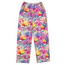 Psychedelic Collage Plush Pants