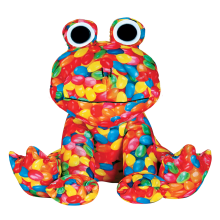 Jelly Beans Plush Frog Stuffed Animal