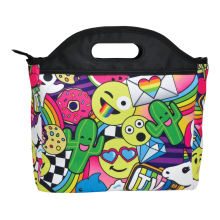 Emoji Party Lunch Tote