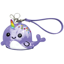 Narwhal Purse Key Chain