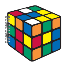 Rubik's® Cube Scented Notebook