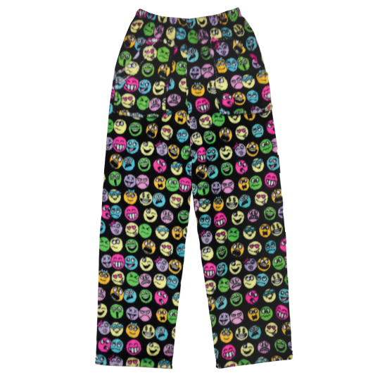 Picture of Funny Emojis Plush Pants