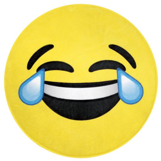 Picture of Happy Tears Emoji Floor Mat