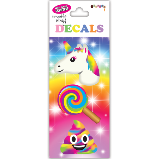 Picture of Rainbow Emojis Decals Small