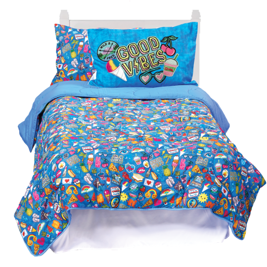 Picture of Embroidered Patches XL Twin Comforter